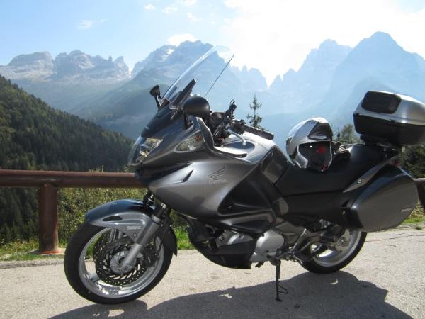 Meine Honda Deauville VT700